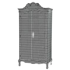 Houndstooth + Baroque -- if this is wrong, I don't want to be right!