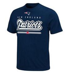New England Patriots Men's Tee Crew Neck T-Shirt