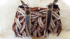 Resultado de imagen de monederos tejidos con anillas de lata