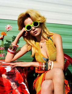 Trailer Park Fashion The Wonderland Magazine April-May 2012 Issue Stars Josephine Skriver