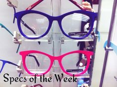 314eae9e1c1 Love these velvet glasses from Unger  amp  Fagan Opticians