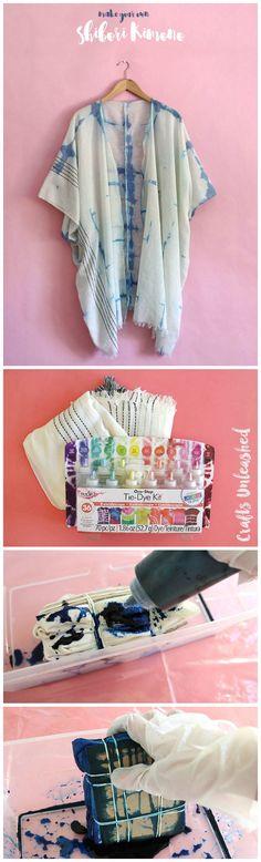 Make Your Own DIY Shibori Kimono