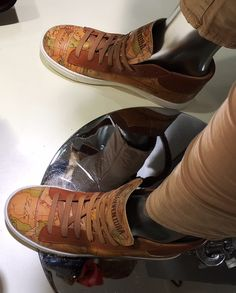 Nuova offerta: Sneaker in pelle ALVIERO MARTINI 1^ CLASSE collezione P/E 2016 - Cittadella - Padova - Arianna Boutique