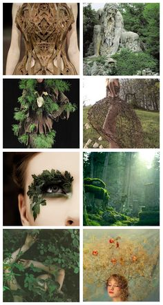 fashion inspiration; middle earth {ents}