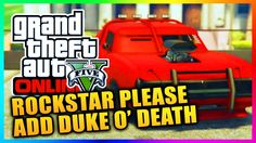 """GTA 5 Online - Why The """"Duke O' Death"""" Needs To Be In GTA Online! (GTA V)"""