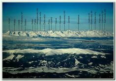 The High Tatras and the Low Tatras