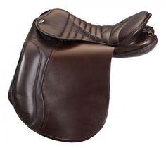 Silla de marcha Excelsior Extra Full. Fabricada en cuero de búfalo.