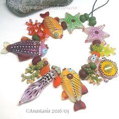 ANASTASIA-handmade-lampwork-beads-11-SUNRISE-SRA http://www.ebay.com/itm/262319937938?ssPageName=STRK:MESELX:IT&_trksid=p3984.m1555.l2649