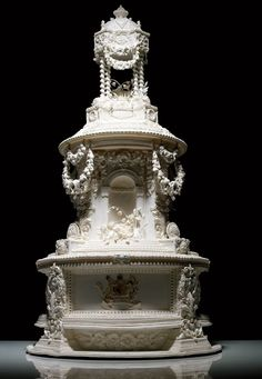 Stunning Replica of Princess Victoria's Wedding Cake - by Ron Ben-Israel