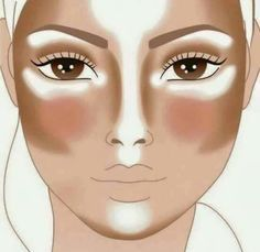 #Contouring #Highlighting #Baking #Maquillaje #BeautyTips