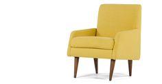Profile Chair, Amber Linen | made.com