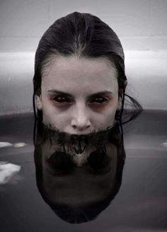 those eyes...The Reflection Dark Horror Vibe Heartless