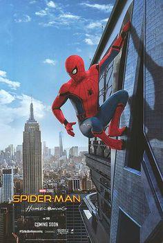Original Spider-Man homecoming movie poster.