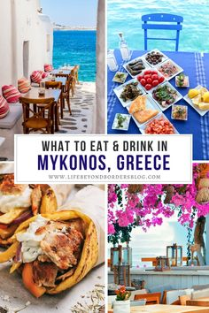 Are you planning to travel to Mykonos, Greece and want to try some traditional Greek food? Here is the ultimate list of the top things to eat and drink in Mykonos, including all the best things to eat in Mykonos, as well as where to eat in Mykonos. I wha to drink in Mykonos I restaurants in Mykonos I Mykonos restaurants I Mykonos food I what to eat in Greece I where to eat in Greece I food in Greece I what to eat in Greece I what to drink in Greece I best food in Greece I #Greece #Mykonos…