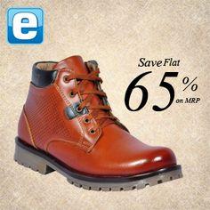 Rock the #formal & #casual look with George men's #shoes.  Get Flat 65% Off!! Buy Here :https://goo.gl/pivsBIhttps://www.facebook.com/estoorIndia/posts/489113967940306