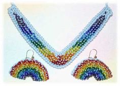 Beaded Rainbows and Dreamcatchers to make and wear!