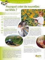 Pourquoi créer de nouvelles variétés ?