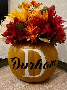 Crafts in the Command Center: BBTB Challenge; Pumpkins Garden Of Words, Mini Monster, Foam Pumpkins, Pumpkin Farm, Cricut Cartridges, Cricut Fonts, Floral Foam, Basic Shapes, Artificial Flowers