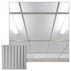 southland clear ceiling tiles