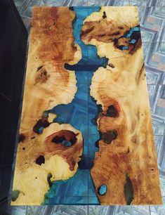 Diy Resin Wood Table, Epoxy Table Top, Epoxy Resin Table, Diy Table, Resin And Wood Diy, Rustic Coffee Tables, Rustic Table, Resin Crafts, Resin Art