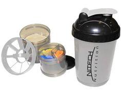 Coqueteleira 600ml - Nitech Nutrition com as melhores condições você encontra no…