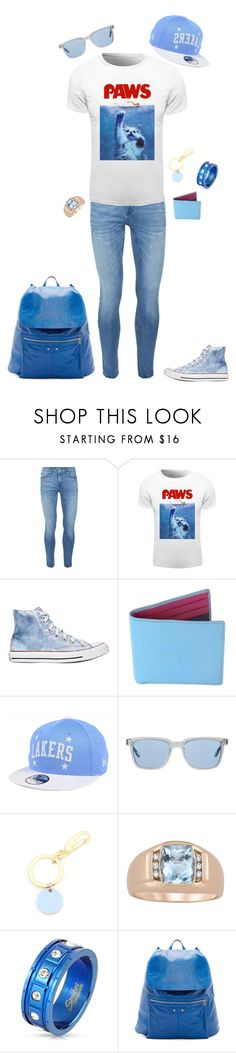 """fun outfit #3"" by donut-boi on Polyvore featuring Topman, Converse, Gresham Blake, New Era, Oliver Peoples, Paul Smith, West Coast Jewelry, Balenciaga, men's fashion and menswear"