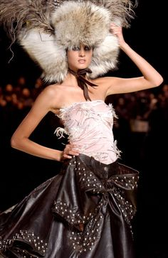 John Galliano for The House of Dior, Autumn/Winter, 2002, Haute Couture