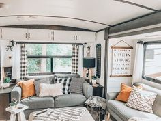Looking to replace or upgrade your RV sofa bed? Check out this list of ideas with pictures and links that will help you find the perfect RV sofa bed of your camper, or trailer. Diy Sofa, Rv Sofa Bed, Bunk Bed, Comfortable Futon, Modern Sleeper Sofa, Small Couch, Remodeled Campers, Beautiful Living Rooms, Rv Living