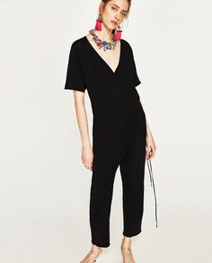 CROSSOVER JUMPSUIT - Available in more colours