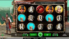 Get to the top of the tower! NetEnt made a great present for all fans of steampunk. Steam Tower is a video slot with 5 reels and 15 paylines, with fantastic symbols of princess, dragon, grabling hook and the tower symbol. Last two symbols are special, while the hook is a Wild symbol and tower is a Scatter. This game even has an interesting plot. You need to get to the sixteenth floor, in order to save the princess.