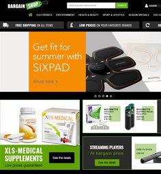 BigCommerce Website Enhancement for eCommerce Industry, UK – BargainShopUK Xls Medical, Bargain Shopping, Ecommerce, Health And Beauty, Website, E Commerce