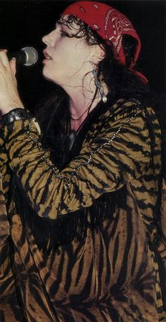 Tom Keifer with a scarf on