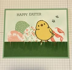 Easter is coming! I used the stamp sets, Honeycomb Happiness, Crazy About You, and In the Meadow in this card. My wide oval punch and fringe scissors too. All from Stampin' Up! www.lisaystamps.stampinup.net