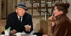 "Katharine Hepburn and Spencer Tracy in ""Desk Set"""