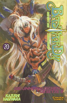 Hagiwara Kazushi, Anime International Company, Bastard!!, Dark Schneider, Manga Cover