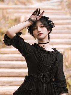 Pin on 帅嘤嘤 Cute Asian Girls, Cute Girls, Cute Fashion, Girl Fashion, Female Pose Reference, Lolita Mode, Beautiful Japanese Girl, Japan Girl, Girl Short Hair