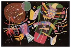 Composition X -  Wassily Kandinsky