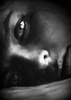Portrait - Close-up - Black and White Photography