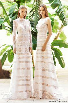 Christos Costarellos 2015 Wedding Dresses | Wedding Inspirasi