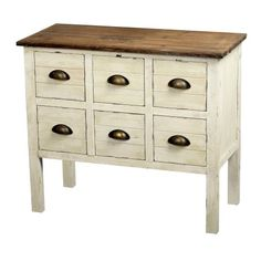Gallerie Dcor Dover 6Drawer Accent Chest Cream -- Check this awesome product by going to the link at the image. (This is an affiliate link)