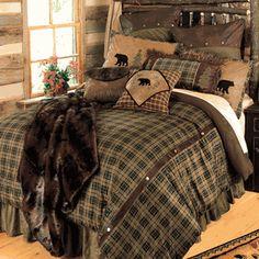 Alpine Bear Bedding Collection, KING SET = $380 @ http://www.blackforestdecor.com/alpine-bear-bedding-collection.html