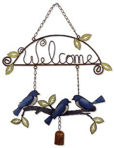 Birds of a Feather Birdies Welcome Sign