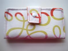 The Loopy Patterned Women's Wallet by craftyatnight on Etsy, $38.00