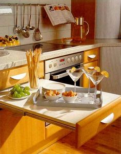 53 Cool Pull Out Kitchen Drawers And Shelves   Shelterness