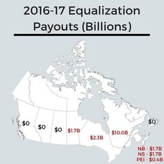 Equalization Payouts in Canada