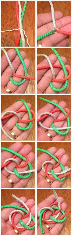 3 Strand Single Matthew Walker Knot