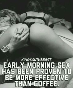 Ways to have hot morning sex