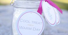 As summer sets upon us and the days start to heat up, what better way to keep your guests cool than with the most adorable ice cream in a jar favors? Lucky you, City Cradle Design has stopped by to share the easy breezy directions for these little jars of goodness. I scream, you scream...…