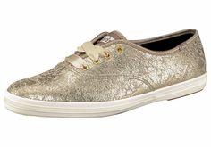 Produkttyp , Sneaker, |Form/Schnitt , Schmale Form, |Schuhhöhe , Niedrig (low), |Farbe , Goldfarben, |Herstellerfarbbezeichnung , LT. GOLD, |Obermaterial , Leder, |Verschlussart , Schnürung, |Laufsohle , Gummi, profiliert, | ...