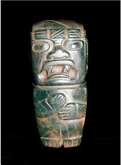 Olmecoid Jade Figure -  Origin: Mexico, Circa: 900 BC to 500 BC